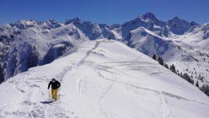 Vrchol Gipfel v Hauser Kaibling